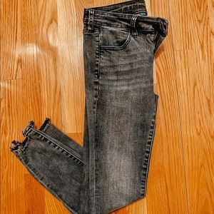 American Eagle high waisted Super stretch jeggings